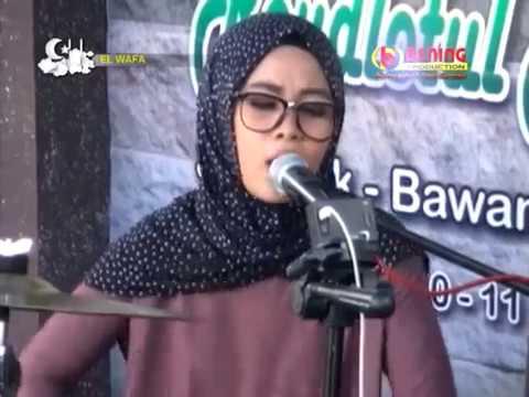 QASIDAH MUTIK NIDA  Maratil Ayam El Wafa Live KENDANG CEWEK