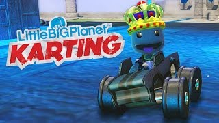 LittleBigPlanet Karting - Sky Temple Ruins - Kart Racing Fun With Sackboy