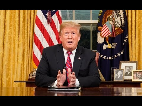 Trump makes case for border wall: Oval Office address