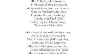 German Baptists Sing Holy Bible Valu