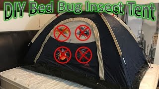 DIY Bed Bug Insect Tent