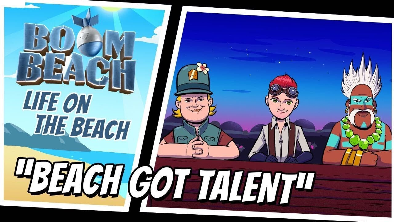 Boom Beach: Beach Got Talent!