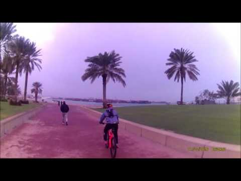 DOHA CITY MTB RIDE JAN 2016