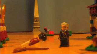 LEGO Harry Potter Broomstick flying test