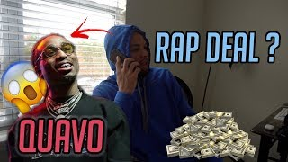 I GET A SURPRISE PHONE CALL FROM QUAVO FROM THE MIGOS (WHATS NEXT ?)