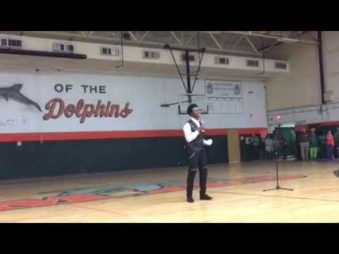MJ Freeman- Billie Jean by Michael Jackson - Talent Show A. Crawford Mosley High School