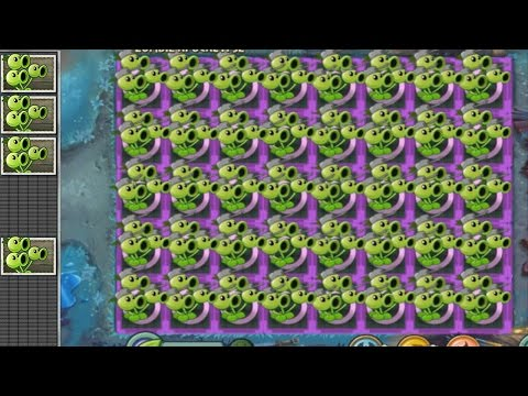 Plants vs Zombies 2 Hack - Tripitidora vs Plaga de Zombistein