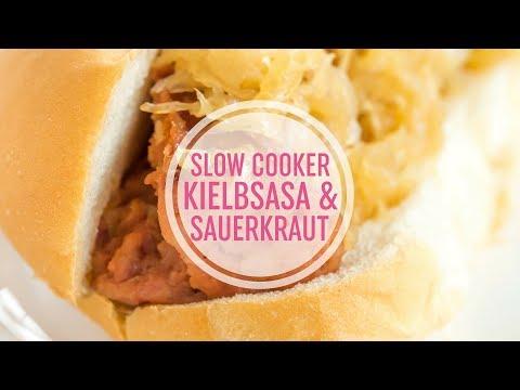 Slow Cooker Kielbasa And Sauerkraut