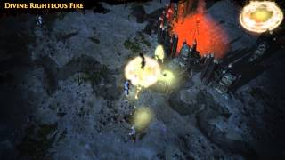 Path of Exile - Divine Righteous Fire Alternate Skill Effect