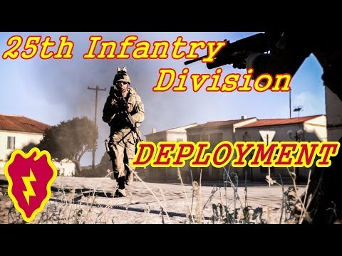Arma 3 Coop Gameplay - 25th ID Deployment 1st Day