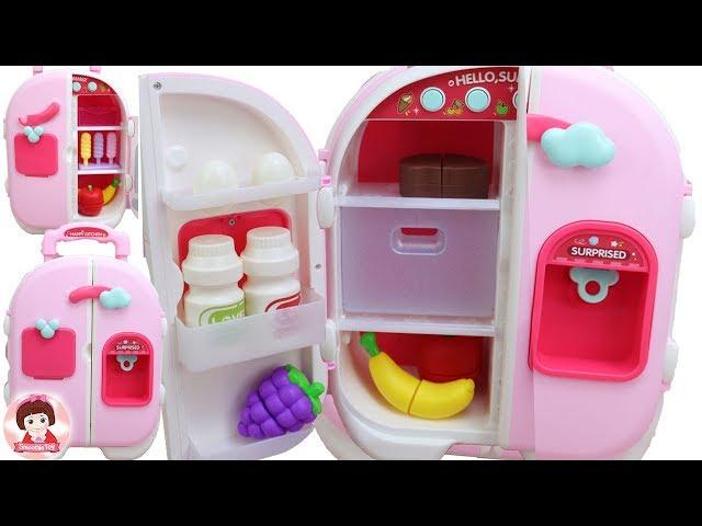 รีวิวของเล่นตู้เย็น Kitchen Toys Food ของเล่นเครื่องครัว ละครบาร์บี้