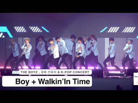 Download lagu gratis THE BOYZ 더보이즈[4K 직캠]Boy + Walkin'In Time , 풀캠@180331 락뮤직 Mp3 online