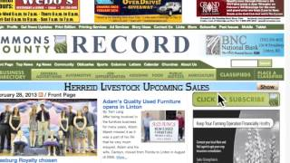 Digital Subscription to the Emmons County Record thumbnail
