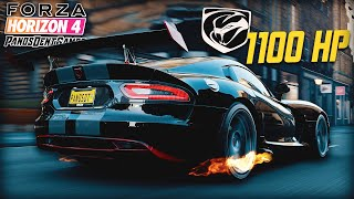 ΤΟ ΑΜΕΡΙΚΑΝΙΚΟ DODGE VIPER SRT ΜΕ ΤΑ 1100 ΑΛΟΓΑ | Forza Horizon 4