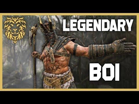 [For Honor] Legendary Boi Being Legendary - Raider Gameplay