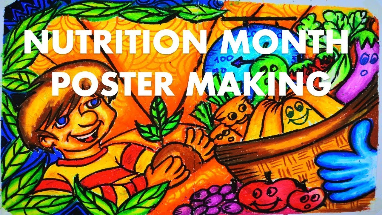 poster making nutrition month