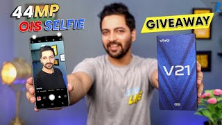 vivo V21 5G - Unboxing & Hands On | 44MP OIS Selfie🤳 | Dimensity 800U⚡ | Ultra Slim | 64MP OIS