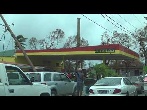 Hurricane Maria Destruction of the US Virgin Islands