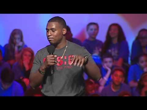 "Motivational Speaker JOHN ""PUSH"" GAINES Demo Video"