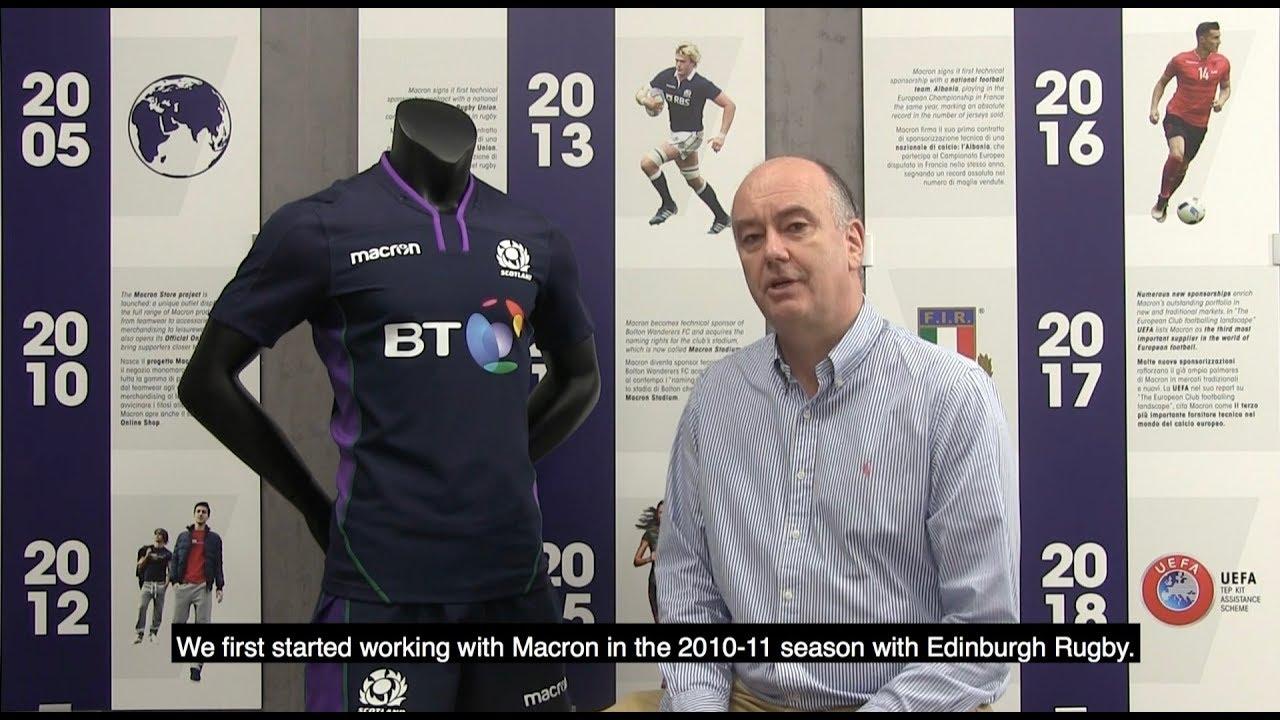 Macron Scottish Rugby Union Together Again Youtube