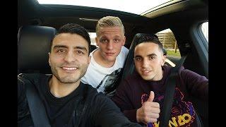 Donny van de Beek VS Abdelhak Nouri ( AJAX ) DEEL 2 - VOETBAL VLOG #11 ( TOUZANI TV )