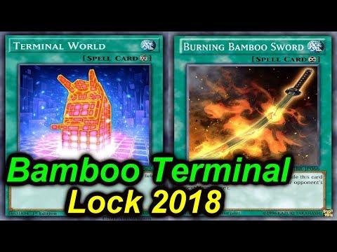 【YGOPRO】BAMBOO TERMINAL LOCKDOWN DECK 2018