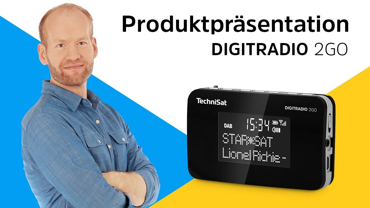 Video: DIGITRADIO 2GO  | DAB+/UKW-Radio im handlichen Format. | TechniSat