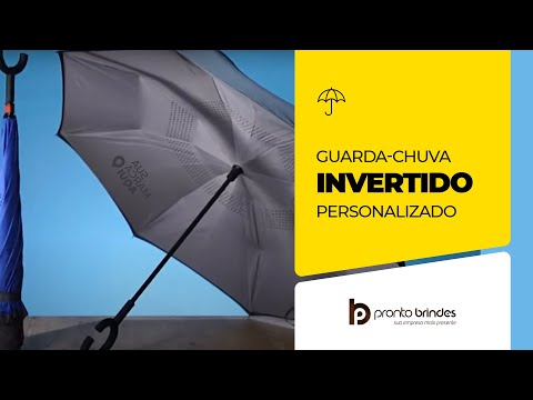 PRONTO BRINDES - GUARDA CHUVA INVERTIDO - GC1020-005