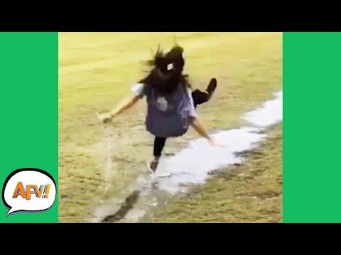 Slip, Slide and FAIL! 😂  | Funniest Fails | AFV 2020
