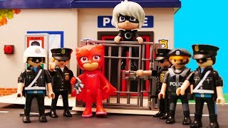 PJ Masks Police in Jail