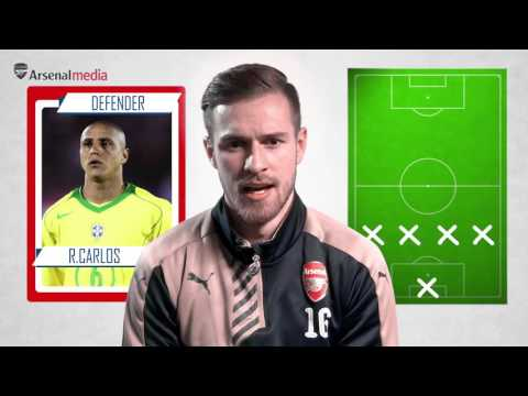 Aaron Ramsey selects his