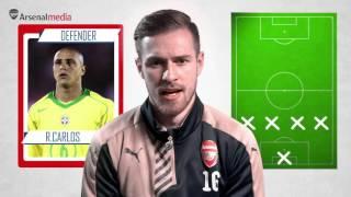 Aaron Ramsey selects his 'Ultimate XI'