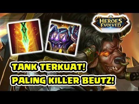 EMEJING Comeback! Tank Paling Gila Damagenya! Minos! - Heroes Evolved Indonesia
