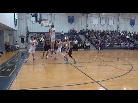 Luke Wilburn, 2020 Burlington Christian Academy basketball highlights