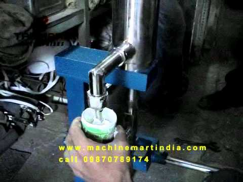 Manual Paste Piston Filler Paste Filler Hand Operated