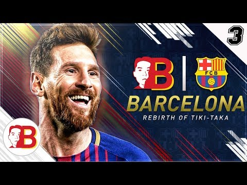 """El Gordo Chino Swindles Pep Guardiola to his FACE!"" FIFA 18 FC Barcelona Rebirth Career Mode EP 3"