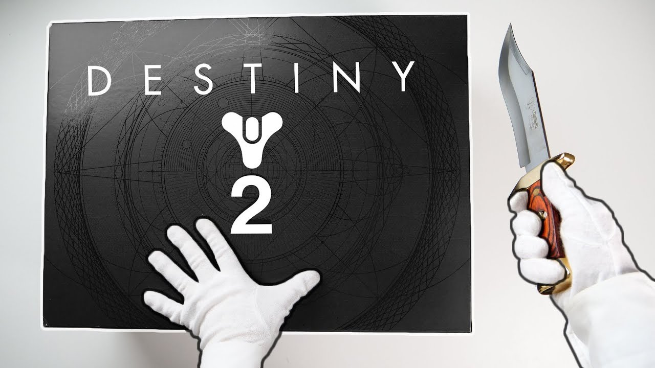 Destiny 2 Collector's Box Unboxing! + Destiny 2 Soundtrack Live by Game Music Collective