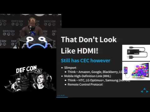 DEF CON 23 - Joshua Smith - High Def Fuzzing: Exploring Vulnerabilities in HDMI CEC *