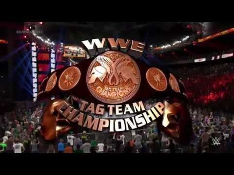 WWE 2K15 Universe Mode - The New Day vs Prime Time Players Tornado Tag Match (Survivor Series PPV)
