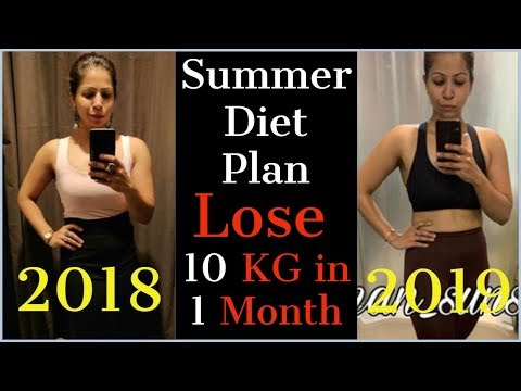 Summer Diet Plan For Weight Loss | How To Lose Weight Fast 10KG in Summer? | Fat to Fab