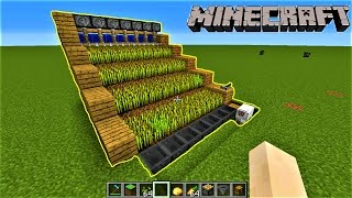 Minecraft | HOW TO MAKE AUTOMATIC FARM