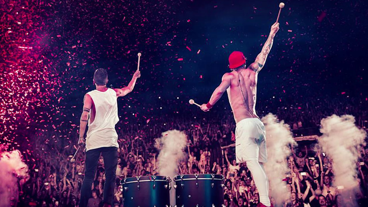 Image result for twenty one pilots live