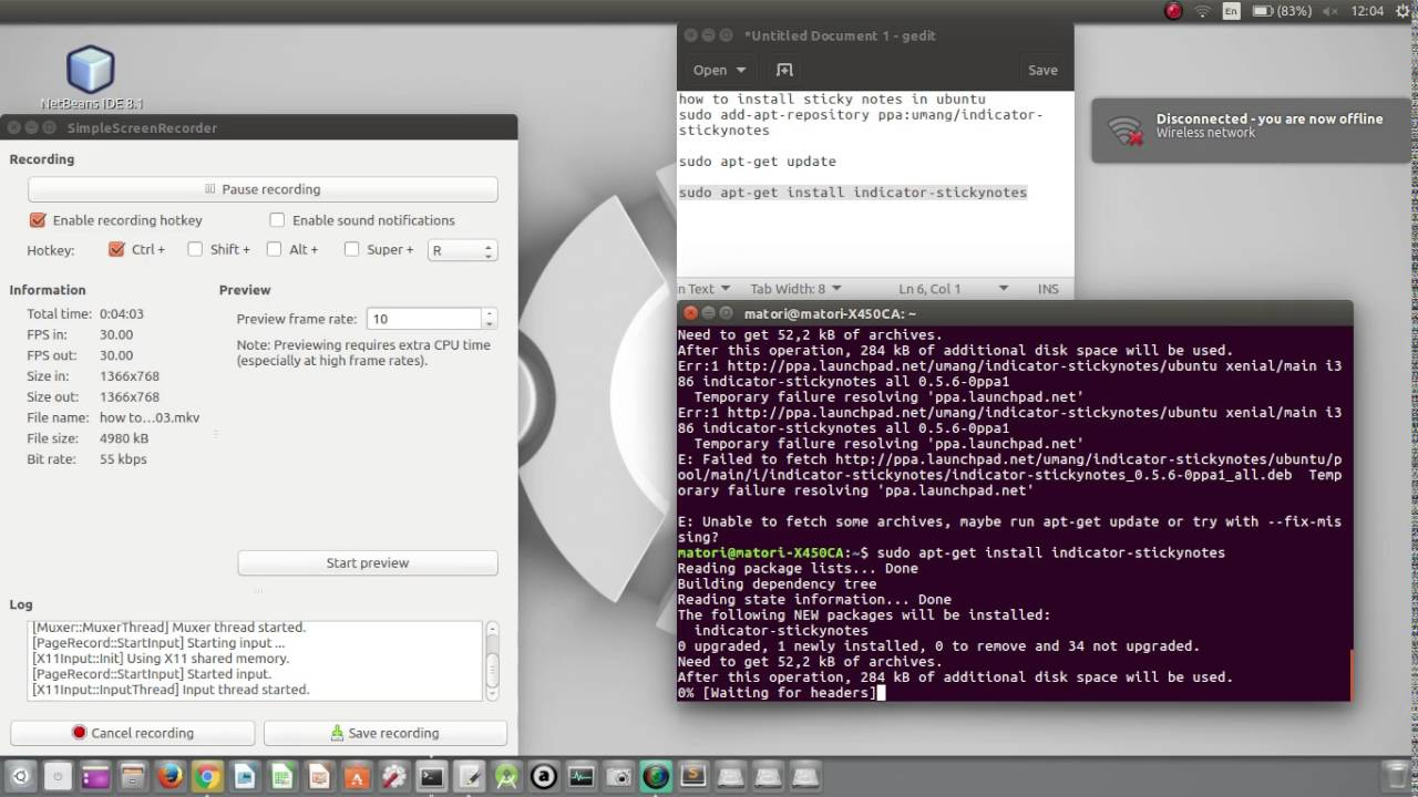 How To Install Sticky Notes In Ubuntu
