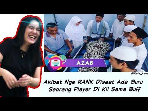 AZAB PUSH RANK SAAT ADA GURU DI KELAS !!! - Reaction