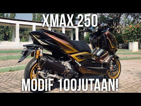 😱MODIFNYA 100JUTAAN GAN!😱 - #90 Review Yamaha XMAX 250 Modifikasi Hedon!