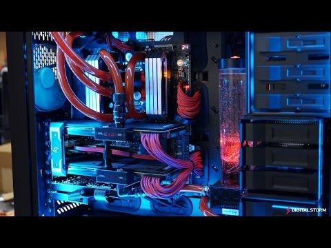 Water Cooled SLI Titan Z Hailstorm II Ultimate PC Build ...
