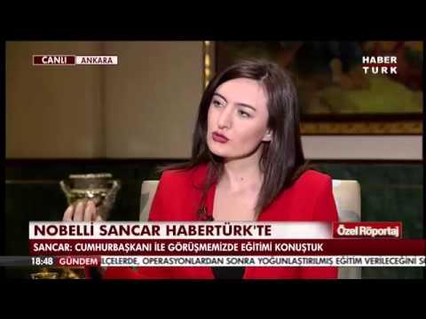 Prof. Dr. Aziz Sancar Habertürk TV'de Aysun Torun'un konuğu oldu