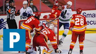 Vancouver Canucks captain Bo Horvat on shutout loss to Calgary Flames   The Province