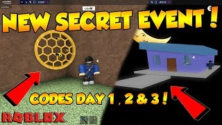 NEW SECRET EVENT IN LT2 [ CODES DAY 1, 2 & 3 ] + GIVEAWAY !! Roblox