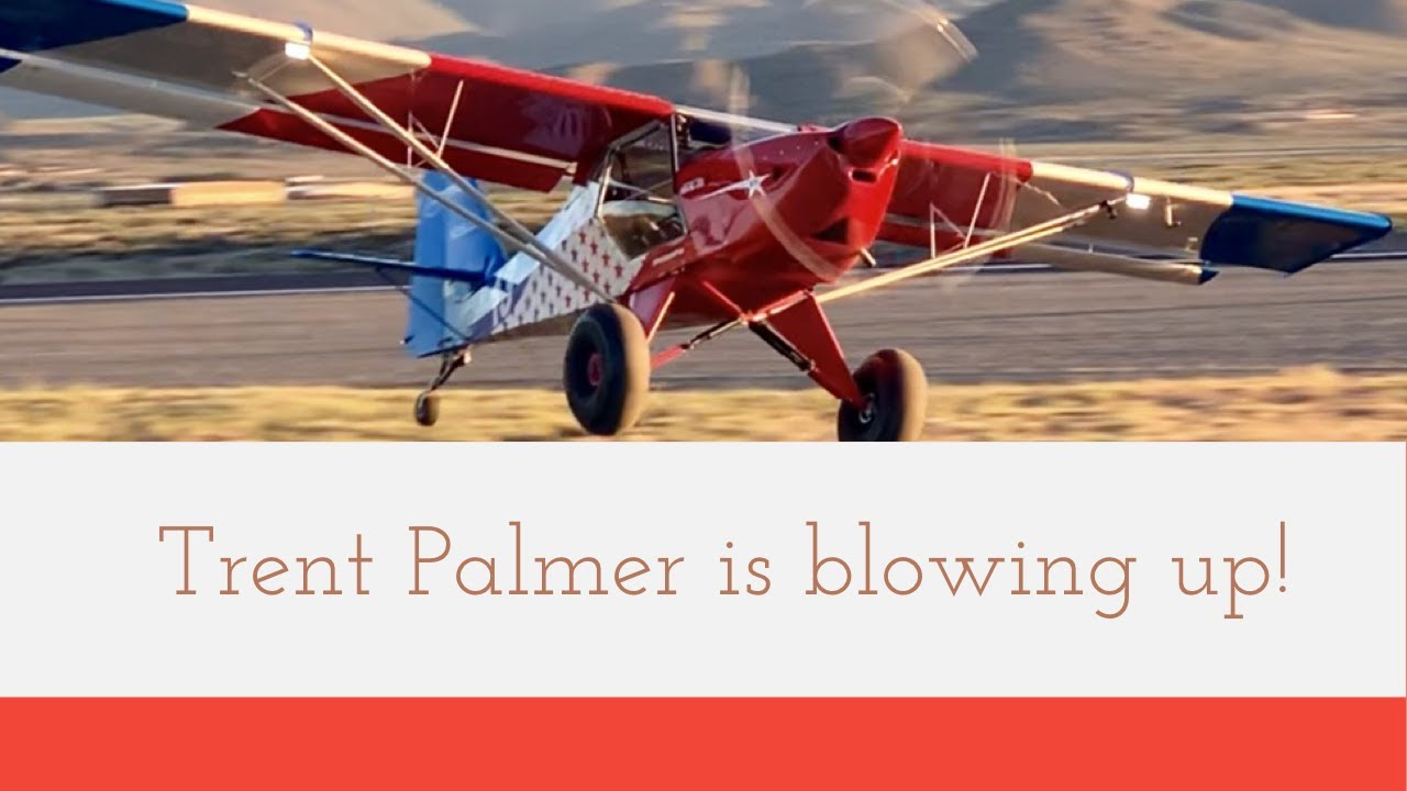 Trent Palmer Blowing Up! #TrentPalmer #Kitfox #aviation #flyingcowboys